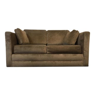 Contemporary Upholstered Two-Cushion Sofa