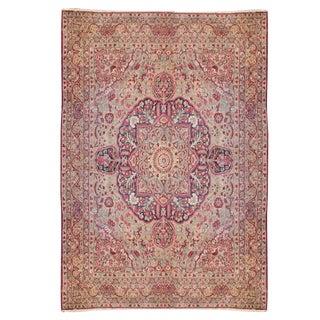 Early 20th Century Persian Lavar Kerman Carpet