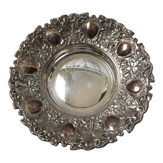 Spanish Silver Charger Plate