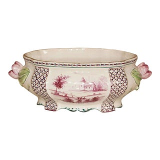 18th C Porcelain Tureen with Clamercy Markings