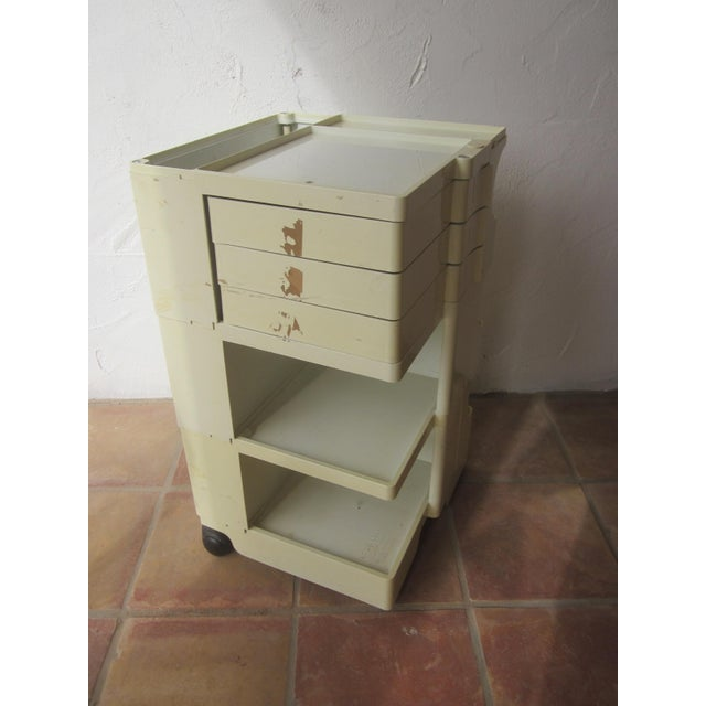 Image of Mid Century Modern Taboret Cart Trolley