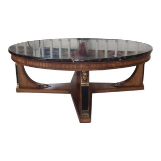 Baker Marble Top Cocktail Table