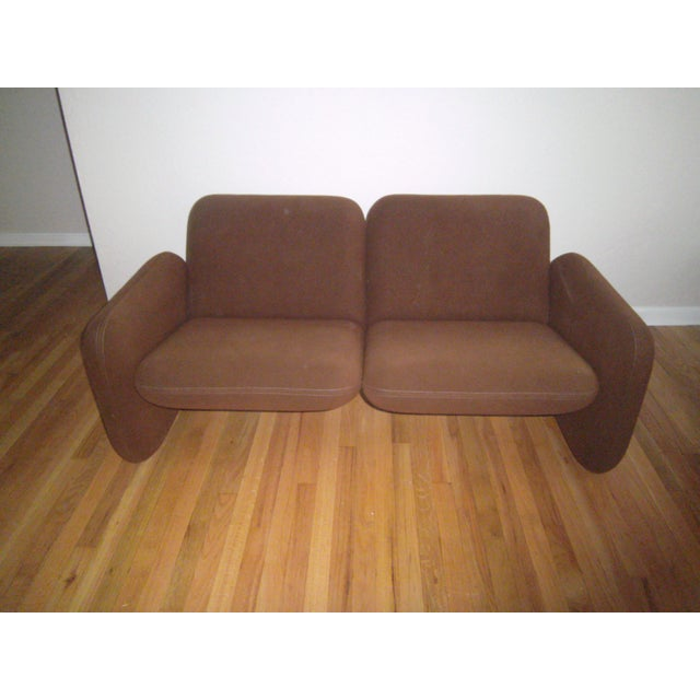 Image of Herman Miller Chiclet Sofa & Chair by Ray Wilkes