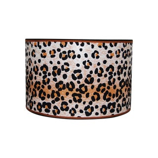 Vintage Cheetah  Wallpaper Lampshade