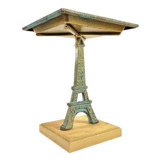 Eiffel Tower Pedestal Plate