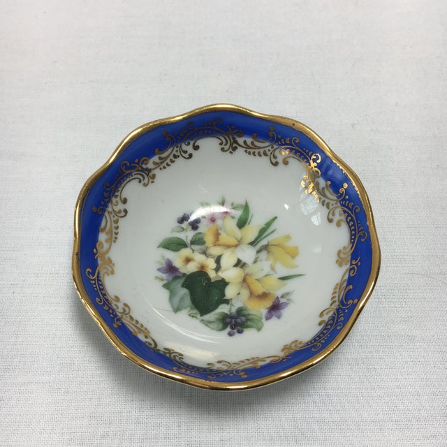 French Limoges Floral Dish - Image 2 of 6