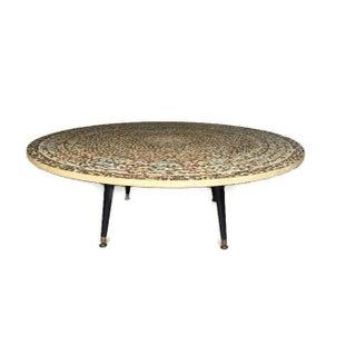 "Mid Century Atomic ""Mosaic"" Coffee Table"