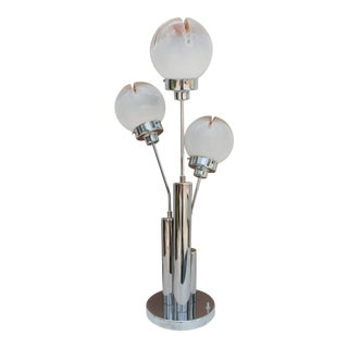 Mid-Century Modern Mazzega Italian Table Lamp