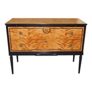 Biedermeier Revival Chest with Drink Trays ca. 1930