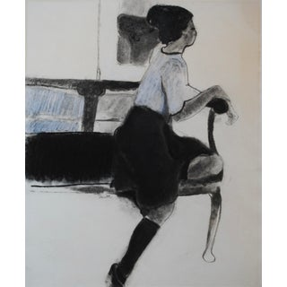 1960s Figurative Drawing II by Laura Smith