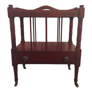 Schott Furniture Mahogany Magazine Stand