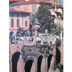 Image of 1950s Vintage French Travel Poster, Albi Cathedral