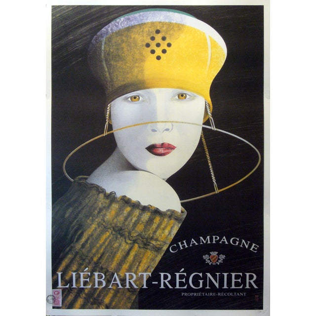 Contemporary Champagne Liebart Poster - Image 1 of 3