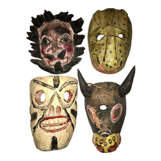 Mexican Mask Collection - Set of 4