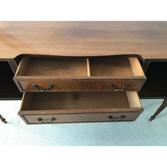 Vintage Detailed Wood Sideboard - Image 4 of 10
