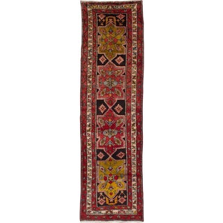"3'5"" x 13'0"" Sarab Vintage Persian Rug"