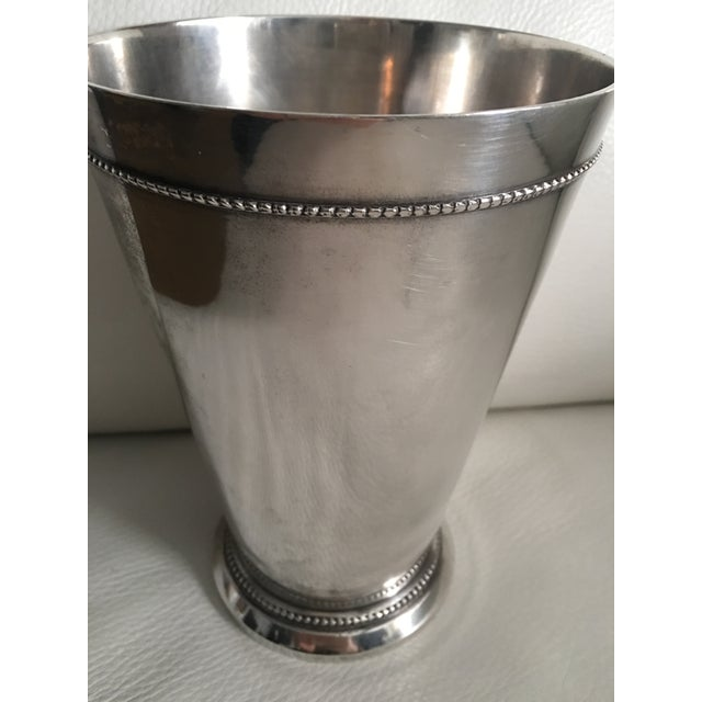 Traditional Silver-Plated Vase - Image 5 of 5