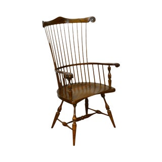 Duckloe Windsor Style High Back Arm Chair