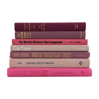 Pink & Purple Book Collection - Set of 7