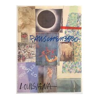 Vintage Louisiana Robert Rauschenberg Original Offset Lithograph