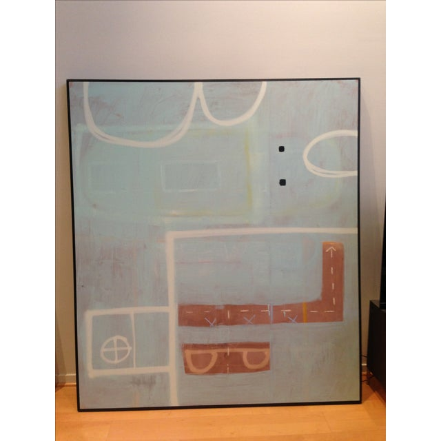 Abstract Painting by Ray Becoskie, 2013 - Image 2 of 2