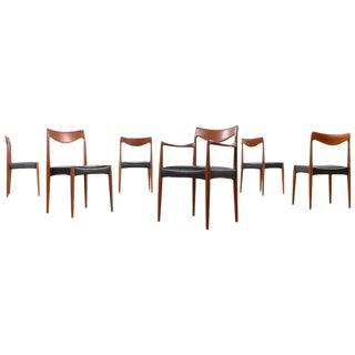 Gustav Bahus Bambi Teak Dining Chairs - Set of 6