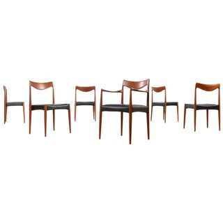 Gustav Bahus Bambi Teak Dining Chairs - Set of 6