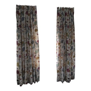 Vervain Padgett Orchid Drape Panels - Set of 4