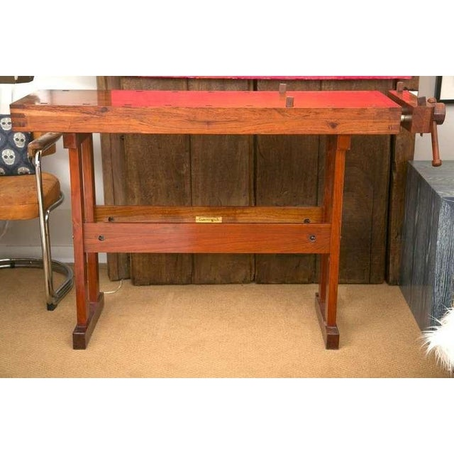 Rhodesian Teak Work Bench - Image 2 of 9