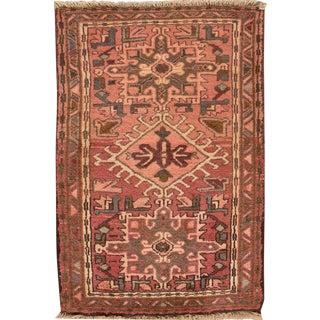 "Apadana - Vintage Persian Heriz Rug, 2'1"" x 3'2"""