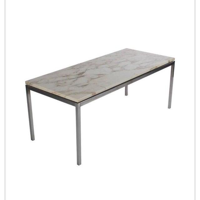 Knoll Marble Coffee Table: Knoll Marble Coffee Table