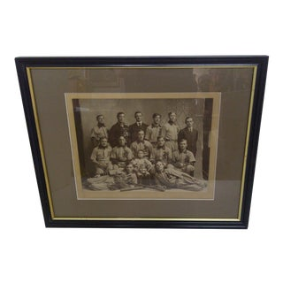 Vintage Baseball Photo - Calvary Lutheran 1907