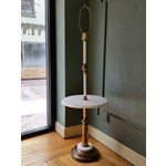 Image of Italian Brass & Marble Floor Lamp