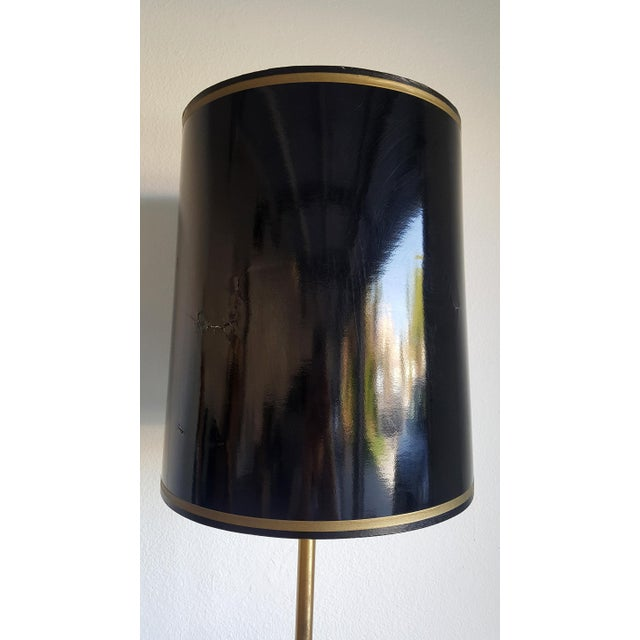1960s Vintage Brass Armillary Astrological Floor Lamp - Image 5 of 6