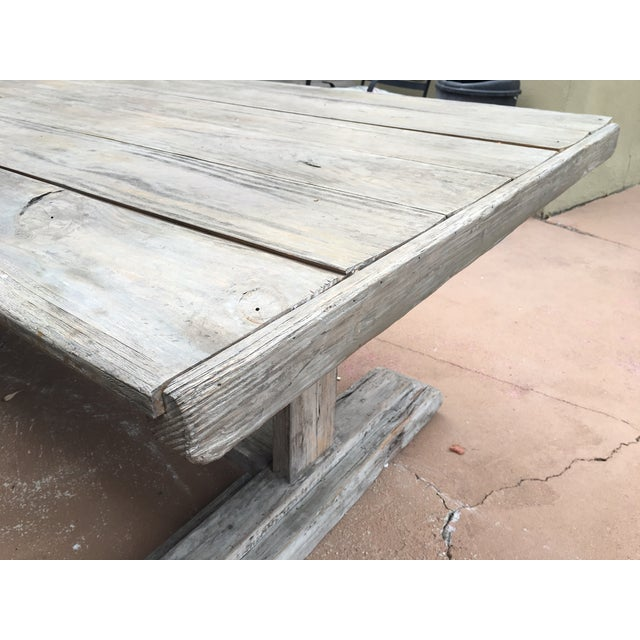 Antique Rustic Farm Table - Image 7 of 7
