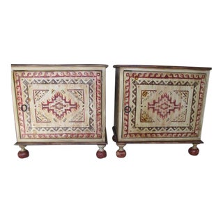 Habersham Hand Painted Chests - A Pair