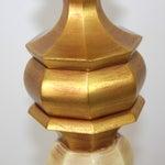 Image of Hollywood Regency Italian Giltwood Lamps - Pair