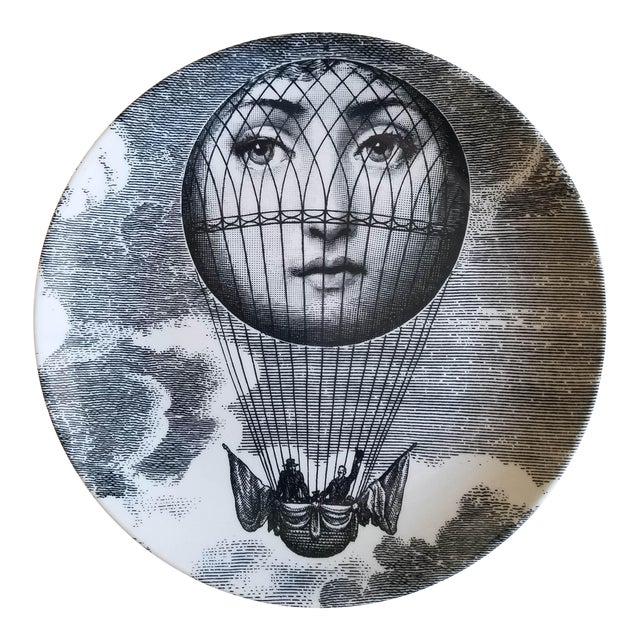 Image of Piero Fornasetti Tema E Variazioni Plate, #131 of Lina Cavalieri's Face