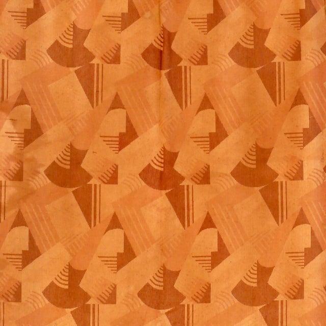 Image of Art Deco Velvet in the Style of Paul Follot