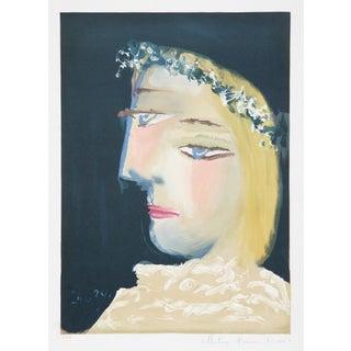 Pablo Picasso, Blanche Couronee, Lithograph
