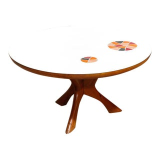 Samson Berman Mid-Century Walnut Coffee Table