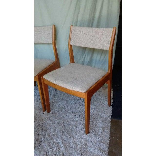 D-Scan Vintage Teak Dining Chairs - Set of 6 - Image 6 of 9