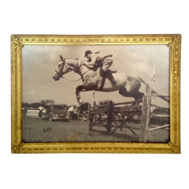 Image of 1927 Equestrian Photograph by Harry Freudy