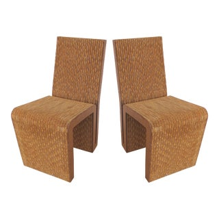 Frank Gehry Easy Edges Chairs - A Pair