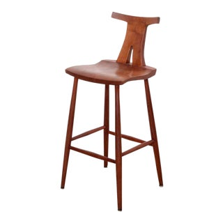 Set of Three American Studio Bar Stools Ethan Perry Michael Elkan