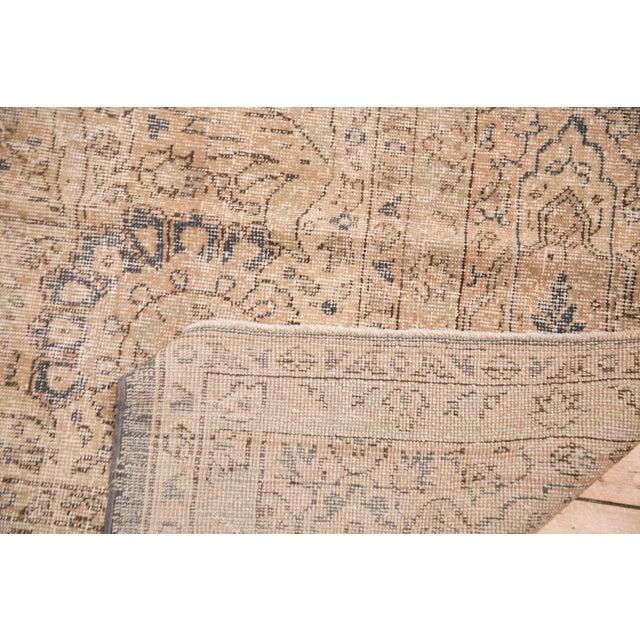 "Distressed Vintage Oushak Carpet - 9'9"" x 14'5"" - Image 6 of 7"