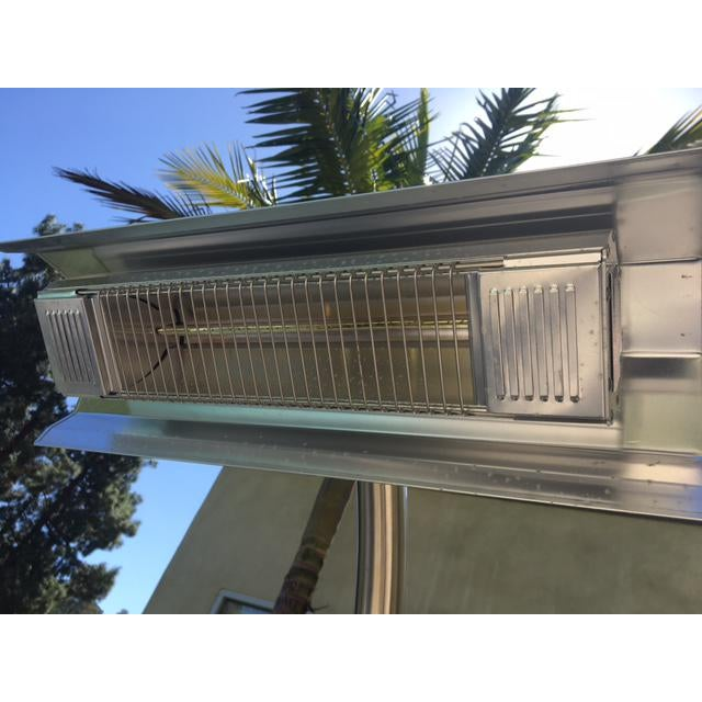 Restoration Hardware Outdoor Heaters A Pair Chairish