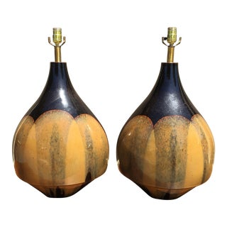 David Cressey Ceramic Lamps - A Pair