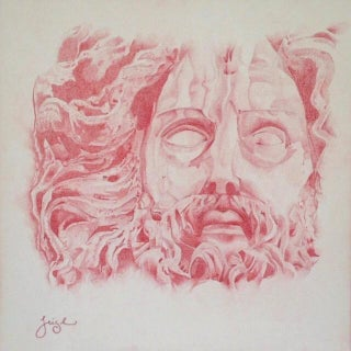 """Jupiter"" Original by Mari Leigh"