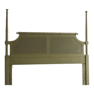 Vintage Henry Link Hali Bai Colection Faux Bamboo Queen /Full Headboard